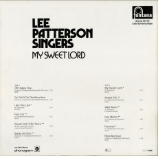 Lee Patterson Singers - My Sweet Lord (LP, Club Edition) (gebraucht VG+)