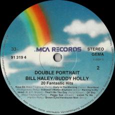Buddy Holly / Bill Haley - Double Portrait - 20 fantastic Hits (LP, Club Edition) (gebraucht VG-)