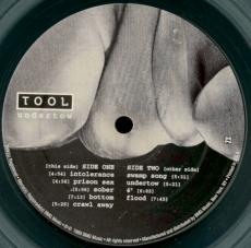 Tool - Undertow (LP, Album, clear) (gebraucht VG-)