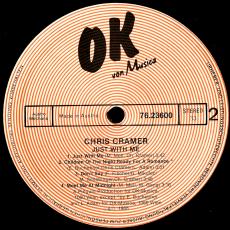 Chris Cramer - Just With Me (LP, Album) (gebraucht VG)