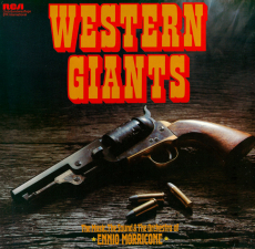 Ennio Morricone - Western Giants (LP, Club Edition) (gebraucht VG+)