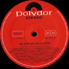 Crazy Otto - The Best Of Crazy Otto (LP, Compilation) (gebraucht VG+)