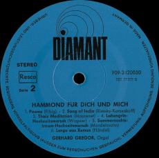 Gerhard Gregor - Hammond Für Dich Und Mich (LP, Vinyl) (gebraucht VG-)