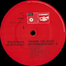 Bing Wittkamp und Die Kakadus - Freunde Der Nacht (LP, Album) (gebraucht G+)