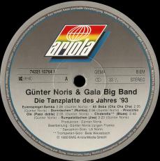 Günter Noris & Gala Big Band - Märchenhaft Tanzen Mit... (LP, Album) (gebraucht VG)