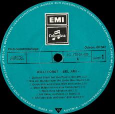 Willi Forst - Bel Ami (2LP, Album, Club) (gebraucht VG)