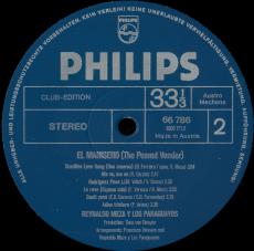 Reynaldo Meza Y Los Paraguayos - El Manisero (The Peanut Vendor) (LP, Club Edition) (gebraucht VG)