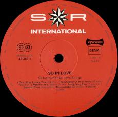 VARIOUS - So in Love... 28 Instrumental Love Songs (2LP, Compilation) (gebraucht VG-)