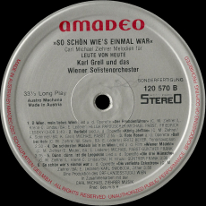 Karl Grell - Carl Michael Ziehrer Melodien (LP, Album) (gebraucht VG)