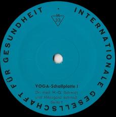 H.G. Schmidt Und Hildegard Schmidt - Yoga-Schallplatte (10 Album) (gebraucht VG)