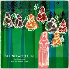 Gebrüder Grimm - Schneewittchen (LP, 10, Hörspiel) (gebraucht VG-)