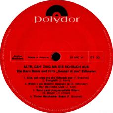 Die Kern Buam und Fritz Edtmeier - Alte,.. (LP, Album) (gebraucht)