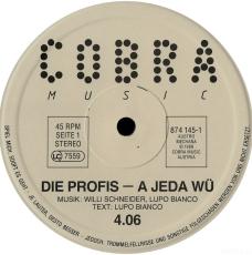 Die Profis - A Jeda Wü (MAXI, 45 RPM, Vinyl) (gebraucht VG+)