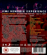 The Jimi Hendrix Experience - Electric Church Atlanta Pop Festival (Blu-Ray) (gebraucht VG+)