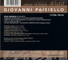 Nina Paisiello - Giovanni Paisiello (2CD, Digipak) (gebraucht VG+)