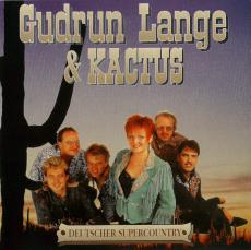 Gudrun Lange & Kactus - Deutscher SuperCountry (CD, Album) (gebraucht VG+)