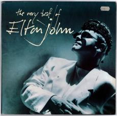 Elton John - The Very Best Of Elton John (2 LP, Comp.) (gebraucht G+)
