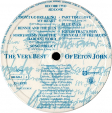 Elton John - The Very Best Of Elton John (2 LP, Comp.) (gebraucht G+)
