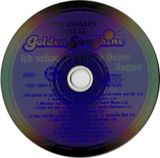Golden Sunshine - Ich schau so gern in Deine Augen (CD, Album) (gebraucht VG+)