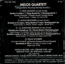 Melos Quartett - Signature (CD, Album, Promo) (gebraucht G)