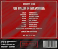 Verdi: Un Ballo In Maschera - Mitropoulos - New York 1955 (2CD, Album) (OVP, ungeöffnet)