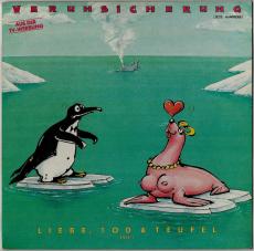 Erste Allgemeine Verunsicherung - Liebe, Tod & Teufel (Teil 1) (LP, Album) (gebraucht G-)