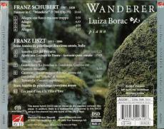 Luiza Borac - Wanderer: Schubert and Liszt (SACD, Compilation) (gebraucht NM)
