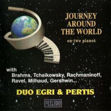 Duo Egri & Pertis - Journey Around The World (CD, Album) (gebraucht VG)