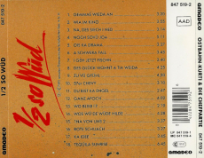 Ostbahn-Kurti & Die Chefpartie - 1/2 So Wüd (CD, Album) (gebraucht G+)