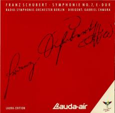 Schubert, Symphonie Nr. 7 E-dur (CD, Lauda-Edition) (gebraucht VG+)