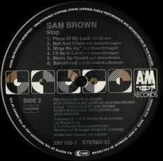 Sam Brown - Stop! (LP, Album, Vinyl) (gebraucht VG)