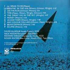 Pink Floyd - The Dark Side Of The Moon (CD, Album, Repress) (gebraucht G+)