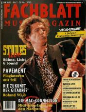 Fachblatt Musikmagazin Nr. 06/95 (used VG-)