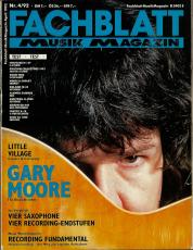 Fachblatt Musikmagazin Nr. 04/92 (gebraucht VG-)