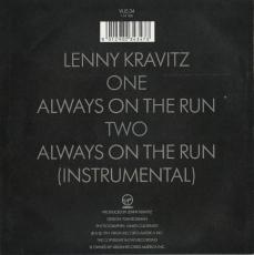 Lenny Kravitz - Always On The Run (Vinyl, 7) (gebraucht VG)