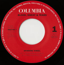 Blood, Sweat And Tears - Spinning Wheel / Youve Made Me So Very Happy (Vinyl, 7, Promo) (gebraucht G)
