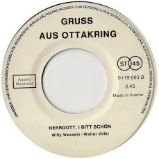 Duo Irma Richter - Reserl Schönegger - Der Alte Ort Von Ottakring (Vinyl, 7) (gebraucht G-)