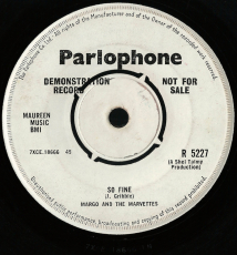 Margo And The Marvettes - Copper Kettle / So Fine (7, Vinyl, Promo) (gebraucht G-)