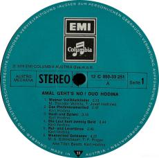 Karl Hodina - Duo Hodina - Amal Gehts No (LP, Album) (gebraucht VG)