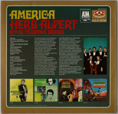 Herb Alpert & The Tijuana Brass - America (LP, Comp.) (used VG)