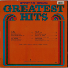 Herb Alpert & The Tijuana Brass - Greatest Hits (LP, Comp.) (used VG)