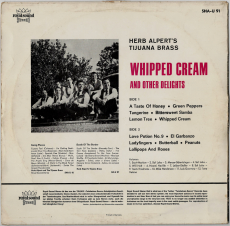 Herb Alperts Tijuana Brass - Whipped Cream & Other Delights (LP, Album) (gebraucht G-)