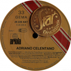 Adriano Celentano - Star Discothek (LP, Comp.) (gebraucht VG)