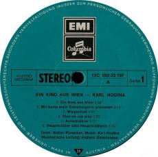 Karl Hodina - Ein Kind Aus Wien (LP, Album) (gebraucht VG)