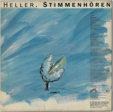 Andre Heller - Stimmenhören (LP, Album) (gebraucht G-)