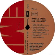 Marek & Vacek - Marek & Vacek Live (2xLP, Album) (gebraucht G)