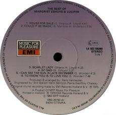 Margriet Eshuys & Lucifer - The Best Of (LP, Compilation, Vinyl) (gebraucht VG-)