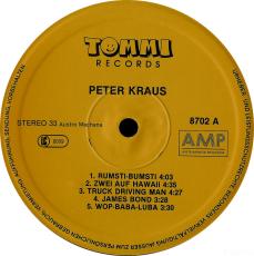 Peter Kraus - 87 (LP, Album) (gebraucht VG)