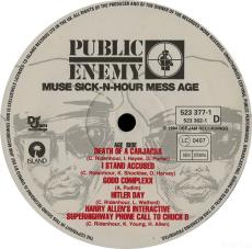 Public Enemy - Muse Sick-N-Hour Mess Age (2xLP, Vinyl) (gebraucht G-)