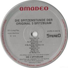Die Spitzenstunde Der Original 3 Spitzbuam (LP, Comp.) (gebraucht VG-)